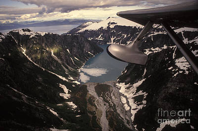 Alluvium Photograph - Aerial View Of Alexander Archipelago by Ron Sanford