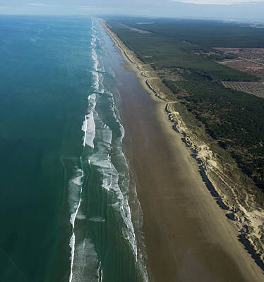 Ninety Mile Beach Photograph - Aerial View Of Beach, Ninety Mile by Panoramic Images