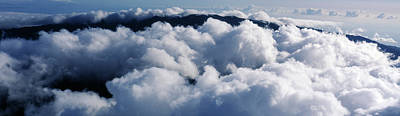 Photograph - Aerial View Of Haleakala Crater by Panoramic Images