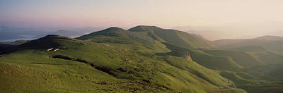 Mountain Photograph - Aerial View Of Mountain Range, Orisson by Panoramic Images