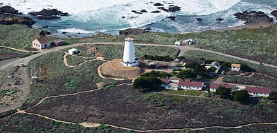 Luis Photograph - Aerial View Of Piedras Blancas by Panoramic Images
