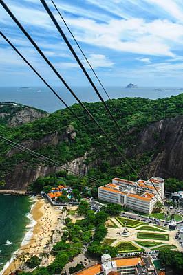 Photograph - Aerial View Of Rio De Janeiro by Celso Diniz