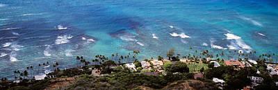 Aerial View Of The Pacific Ocean, Ocean Art Print by Panoramic Images