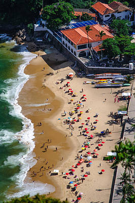 Photograph - Aerial View Of Urca Beach by Celso Diniz