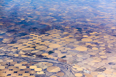Photograph - Aerial View To Texas's Fields by Alex Potemkin