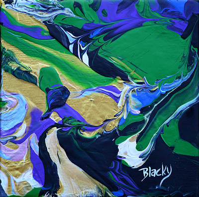 Painting - Aerial Vista by Donna Blackhall