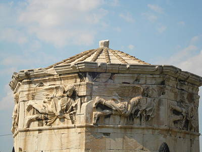 Clustered Around The Northern And Eastern Slopes Of The Acropolis Sculpture - Aerides by Greek View