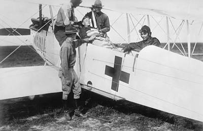 Aero Photograph - Aero-ambulance by Library Of Congress