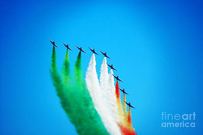 Aerobatics Team Print by Stefano Senise