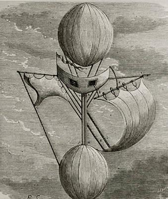 Aeronautical Vessel Art Print by Science Photo Library