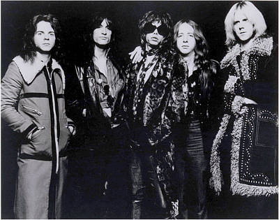 Tom Boy Photograph - Aerosmith - America's Greatest Rock N Roll Band by Epic Rights