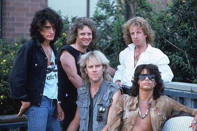 Tom Boy Photograph - Aerosmith - Bad Boys From Boston 1970s by Epic Rights