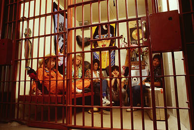 Tom Boy Photograph - Aerosmith - In A Cage 1980s by Epic Rights