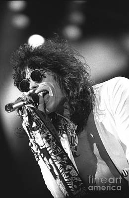 Aerosmith Photograph - Aerosmith by Concert Photos