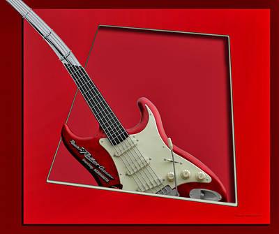Aerosmith Photograph - Aerosmith Rockn Roller Guitar by Thomas Woolworth