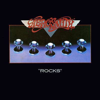 Album Photograph - Aerosmith - Rocks 1976 by Epic Rights
