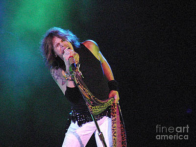 Aerosmith Photograph - Aerosmith - Steven Tyler -dsc00139-1 by Gary Gingrich Galleries