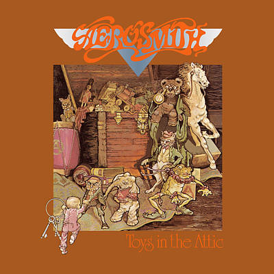 Aerosmith - Toys In The Attic 1975 Art Print by Epic Rights
