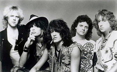 Heavy Metal Photograph - Aerosmith - What It Takes 1980s by Epic Rights
