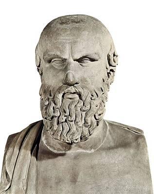 Aeschylus 525-455 Bc. Greek Art Art Print