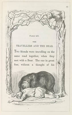 Aesop's Fables Art Print by British Library