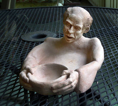 Sculpture - Ascetic's Bowl by Ed Meredith