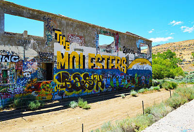 Photograph - Af Graffiti 8 by Brent Dolliver