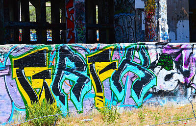 Photograph - Af Graffiti 9  by Brent Dolliver