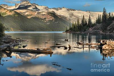 Photograph - Afernoon Reflections At Garibaldi by Adam Jewell