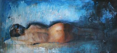 Woman Painting - Affezionato by Escha Van den bogerd