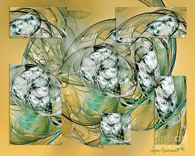 Digital Art - Affirmations by Leona Arsenault