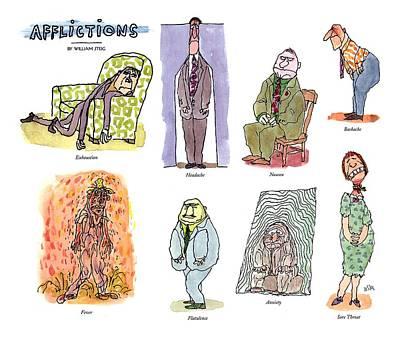 Afflictions Art Print