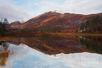 Photograph - Affric Reflections by Howard Kennedy