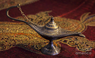 Photograph - Afghan Oil Lamp by Amber Kresge