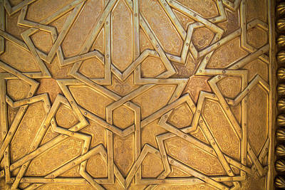 Fez Photograph - Africa, Morocco, Fes, Fes Medina, Brass by Emily Wilson