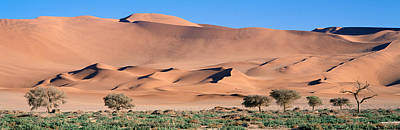 Hot Weather Photograph - Africa, Namibia, Namib Desert by Panoramic Images