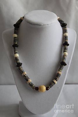 Africa Necklace Original by Amy Gallagher