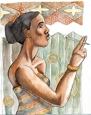 Africa Nouveau Art Print