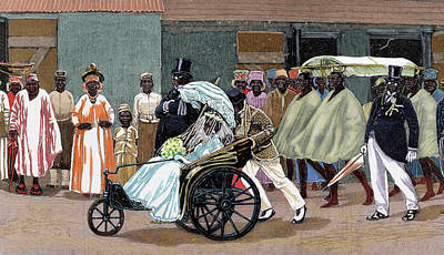 Africa Sierra Leone Bride Of The High Art Print by Prisma Archivo