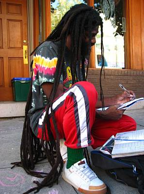 Photograph - Nubian In Urban Asheville by Cleaster Cotton