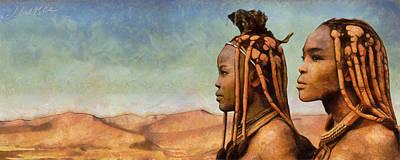 African Beauty Art Print