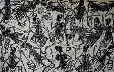 Tanzania Painting - African Dance by Nickson  Ndangalasi