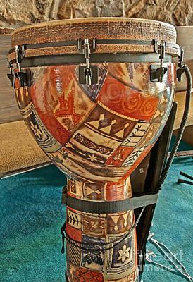 Photograph - African Djembe Drum by Valerie Garner