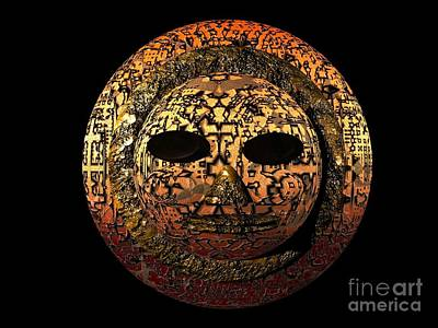 African Mask Series 1 Art Print