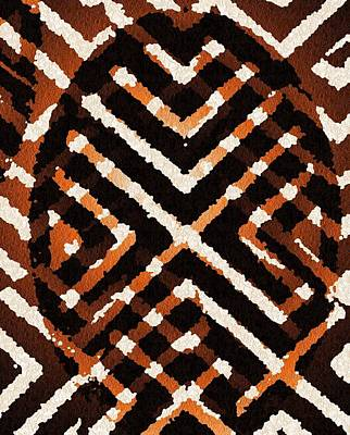 African Peace Art Print by Jacqueline Mason