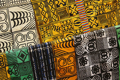 Photograph - African Prints by Michele Burgess
