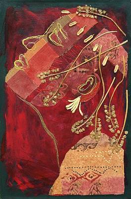 Mixed Media - African Queen by Diane Fine