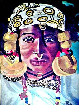 Negro Painting - African Queen by Jo-Ann Hayden