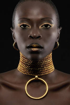 African Queen Art Print