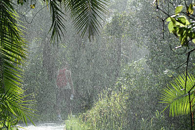 African Rain Art Print